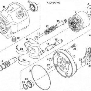 Rexroth A10V A10VSO