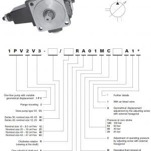 Rexroth 1PV2V3